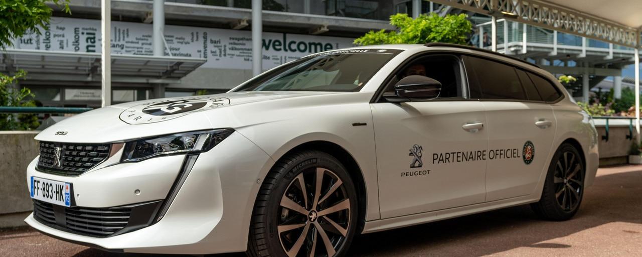Roland Garros - Peugeot Car