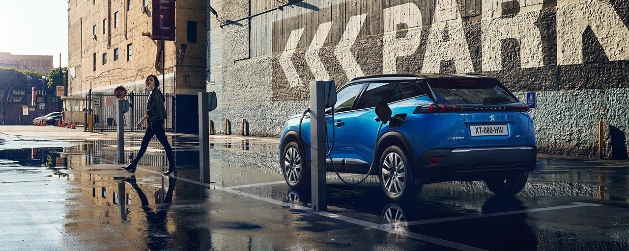 All-New PEUGEOT e-2008 Electric SUV | Quick and Easy Charging