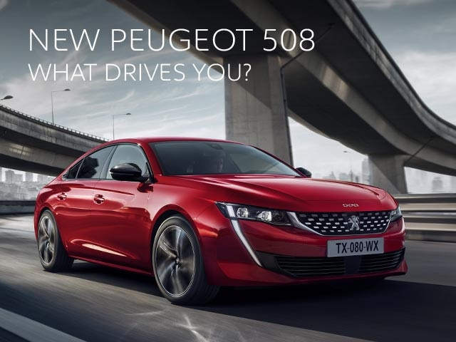 New PEUGEOT 508. What Drives You?