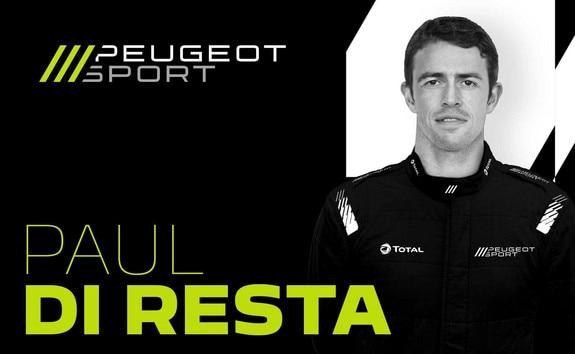 PEUGEOT HYPERCAR 9X8 WEC DRIVER | PAUL DI RESTA