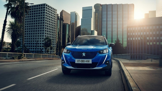 All-New PEUGEOT e-2008 Electric SUV | Image Gallery