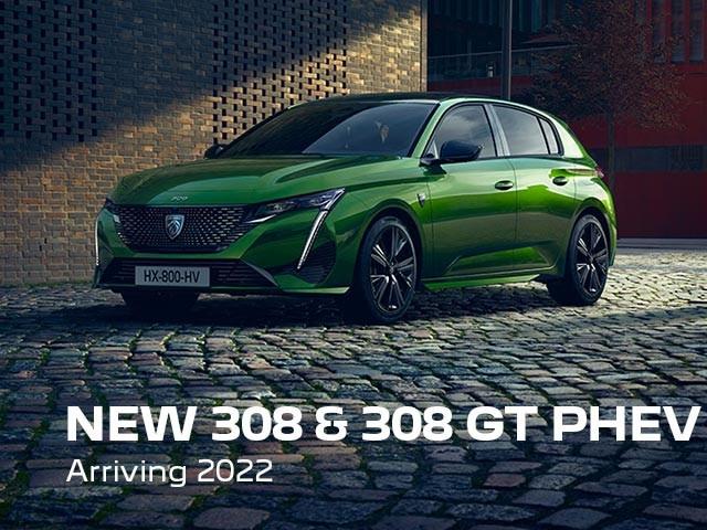 New PEUGEOT 308 & 308 GT PHEV | Arriving 2022
