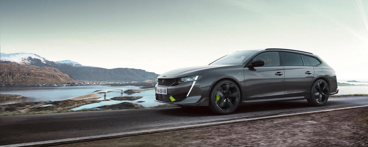 New high-performance PEUGEOT SPORT ENGINEERED hybrid 508 SW estate