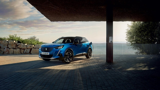 All-New PEUGEOT e-2008 Electric SUV   Image Gallery