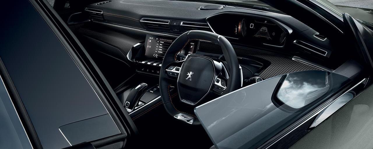 PEUGEOT 508 Fastback i-Cockpit Interior