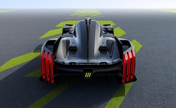 HYPERCAR 9X8 WEC LMH DESIGNED TO RACE
