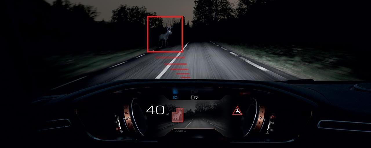 PEUGEOT 508 Fastback Night Vision Technology