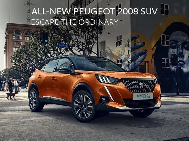 All-New PEUGEOT 2008 SUV   Escape The Ordinary