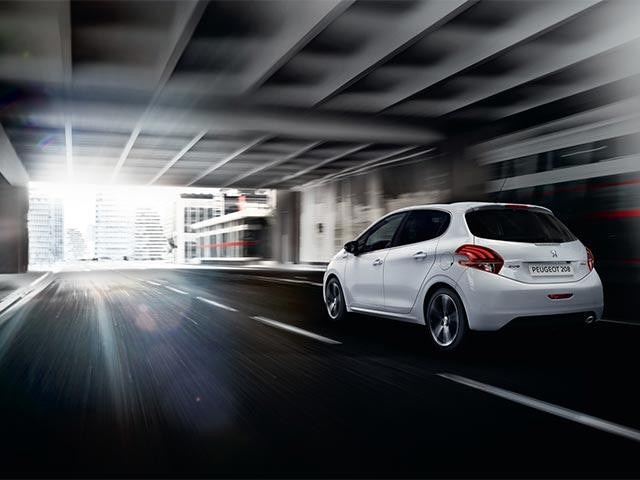 PEUGEOT 208 stop and start technology