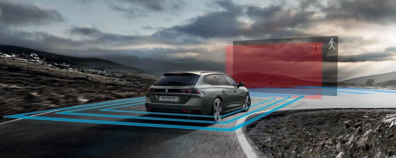 PEUGEOT 508 SW Technology | Packed with Advanced Driver Assistance Systems