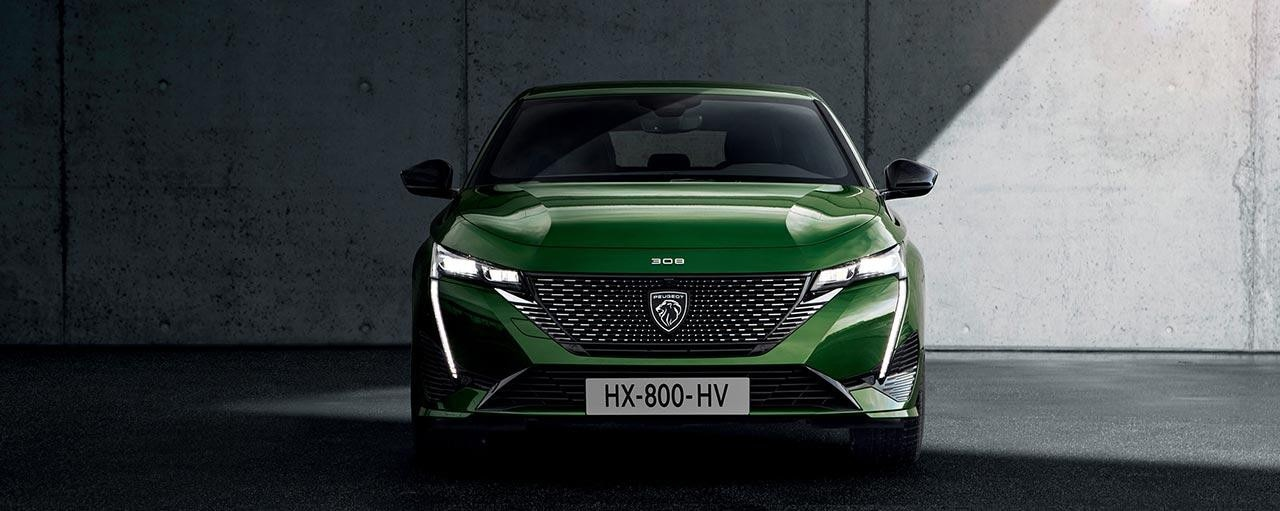 All-New PEUGEOT 308 Hatchback Design | Front Grille With New Badge