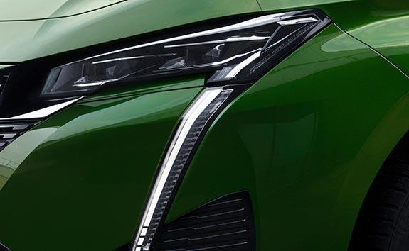 All-New PEUGEOT 308 Hatchback Design | Slim Front Headlights