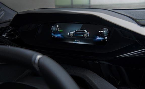 All-New PEUGEOT 308 Hatchback Driver's Position | 3D Instrument Panel