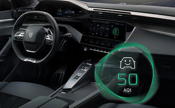 All-New PEUGEOT 308 Hatchback Driver's Position | Clean Cabin System