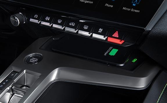 All-New PEUGEOT 308 Hatchback Driver's Position | Wireless Smartphone Charging