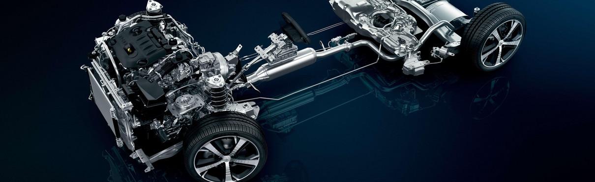 Peugeot 308 gt base roulante