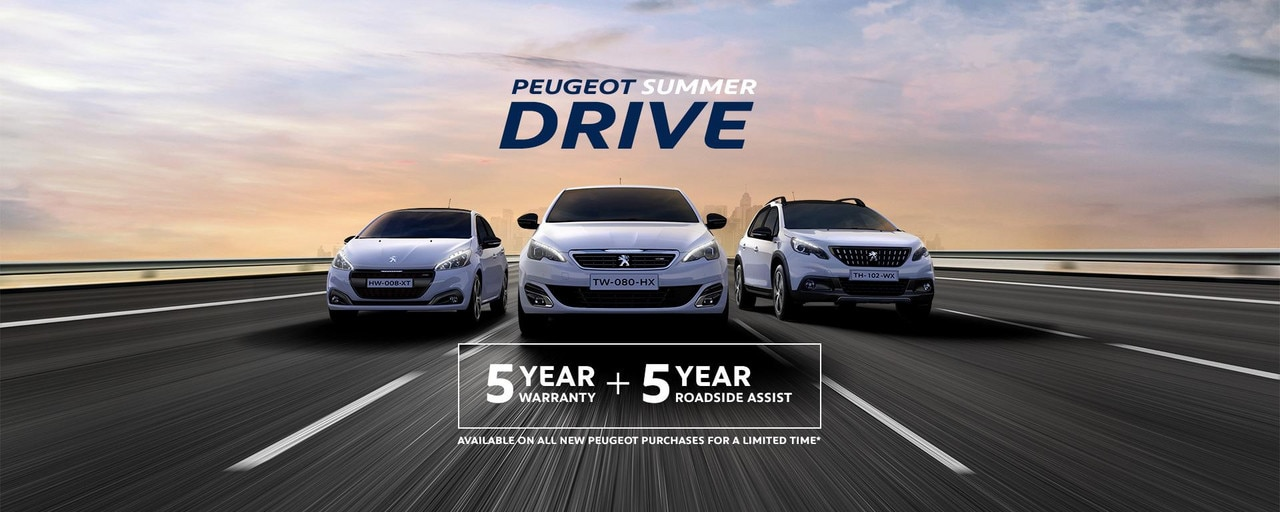 PEUGEOT Summer Drive Offers