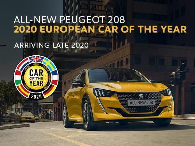 All-New PEUGEOT 208 | 2020 European Car Of The Year | Arriving Late 2020