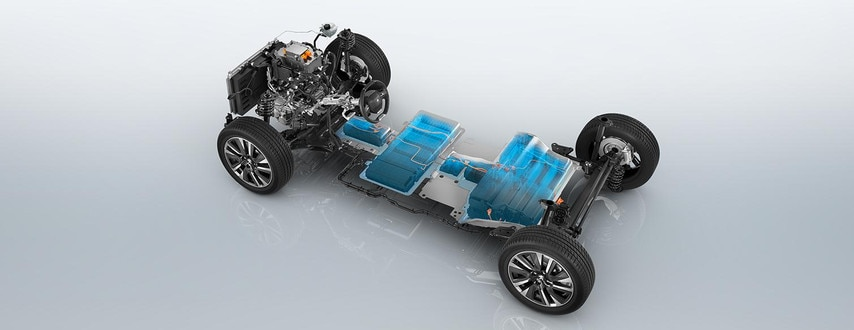ALL-NEW PEUGEOT e-2008 electric SUV: electric running base