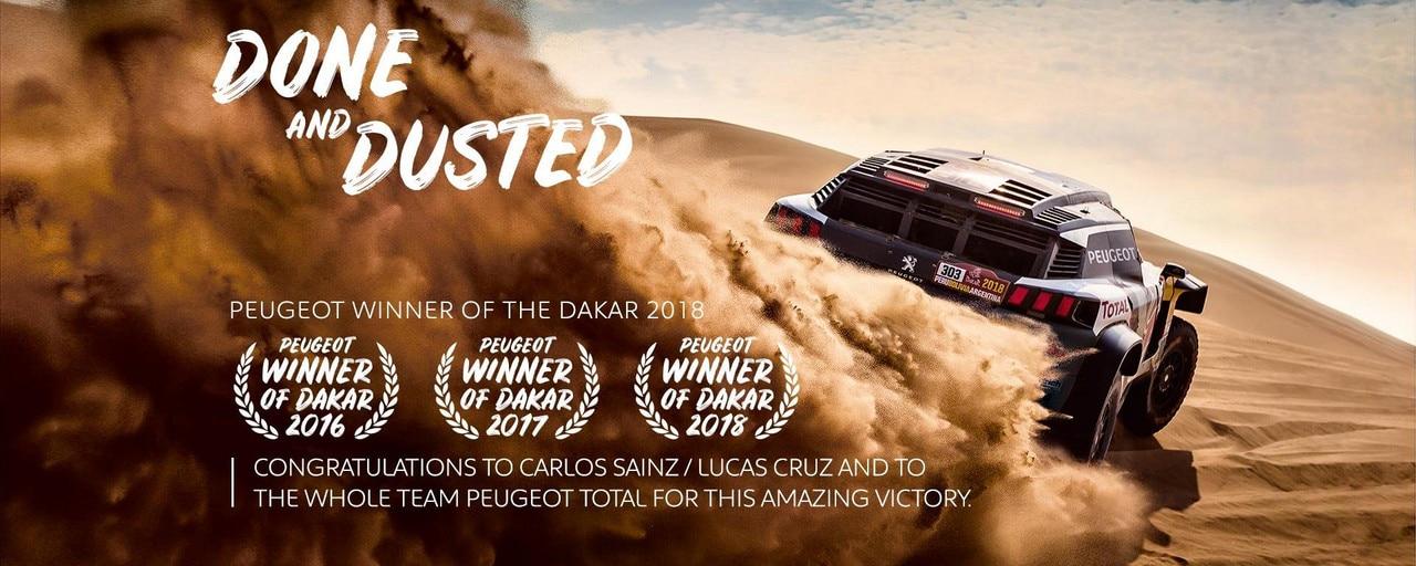PEUGEOT wins Dakar 2018