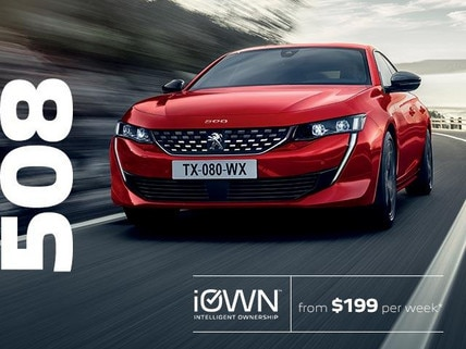 PEUGEOT 508 With iOWN Intelligent Ownership | From $199 per week* and Guaranteed Future Value
