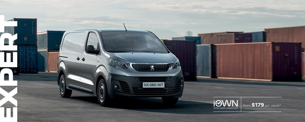 PEUGEOT Expert Van With iOWN Intelligent Ownership | From $179 per week* and Guaranteed Future Value